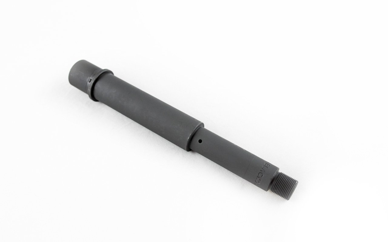 "300 Blackout 7.5"" Heavy AR 15 Pistol Barrel, 1:7 Twist, 4150 Chromoly, Parkerized"