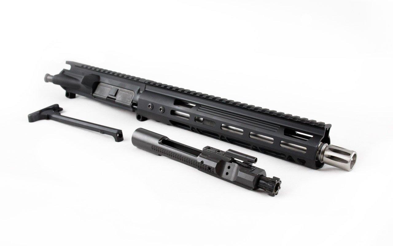 "300 Blackout Pistol Upper (10.5"" SS Barrel & M-Lok Handguard) AR 15 Complete Pistol Upper"