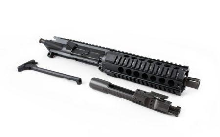 "300 Blackout Pistol Upper (7.5"" Barrel & 7"" Free Floating Quad Rail) AR 15 Complete Pistol Upper"