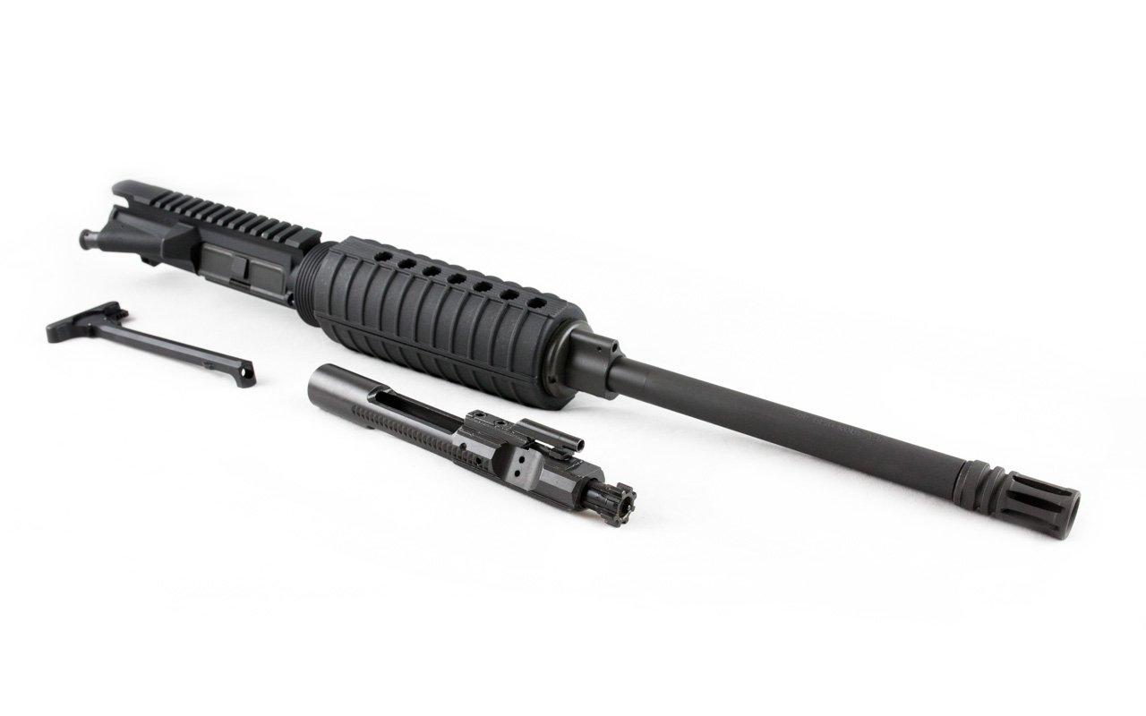 "300 Blackout Upper (16"" Barrel, Carbine-Length, A2 Handguard) AR 15 Complete Rifle Upper"