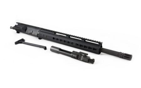 """300 Blackout Upper (16"""" Barrel & 12"""" Lightweight Keymod Handguard) AR 15 Complete Rifle Upper"""