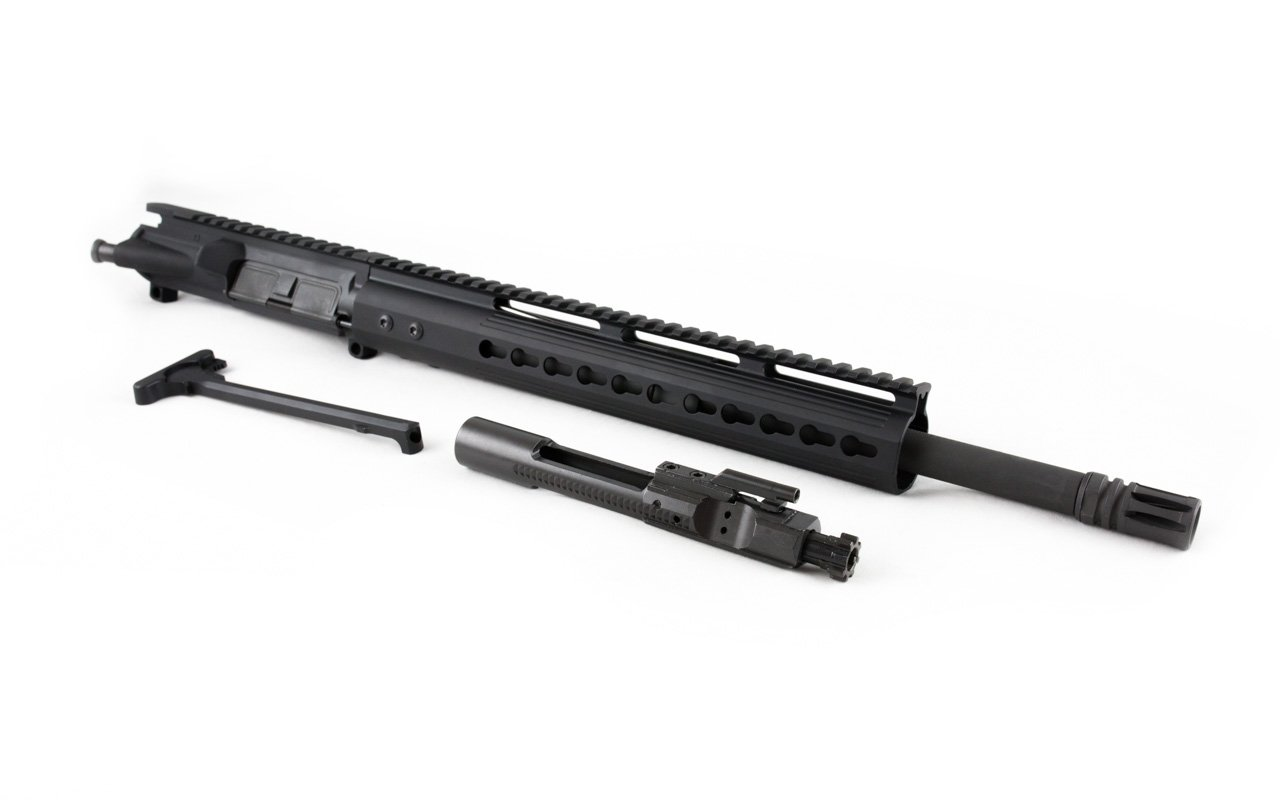 "300 Blackout Upper (16"" Barrel & 12"" Lightweight Keymod Handguard) AR 15 Complete Rifle Upper"