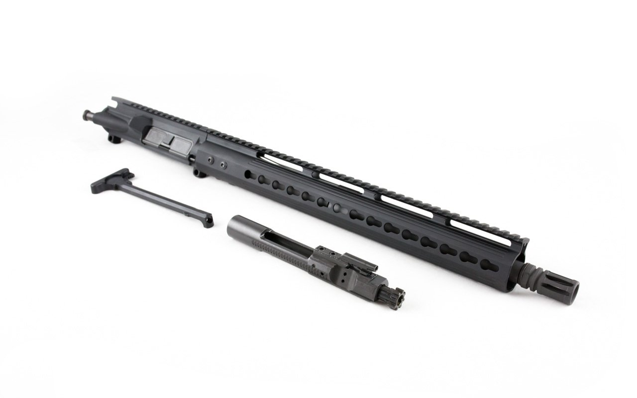 "300 Blackout Upper (16"" Barrel & 15"" Lightweight Keymod Handguard) AR 15 Complete Rifle Upper"