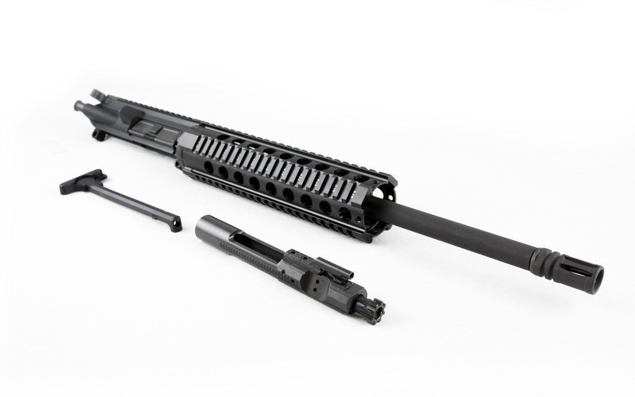 "300 Blackout Upper (16"" Barrel, Carbine-Length, Quad Rail) AR 15 Complete Rifle Upper"