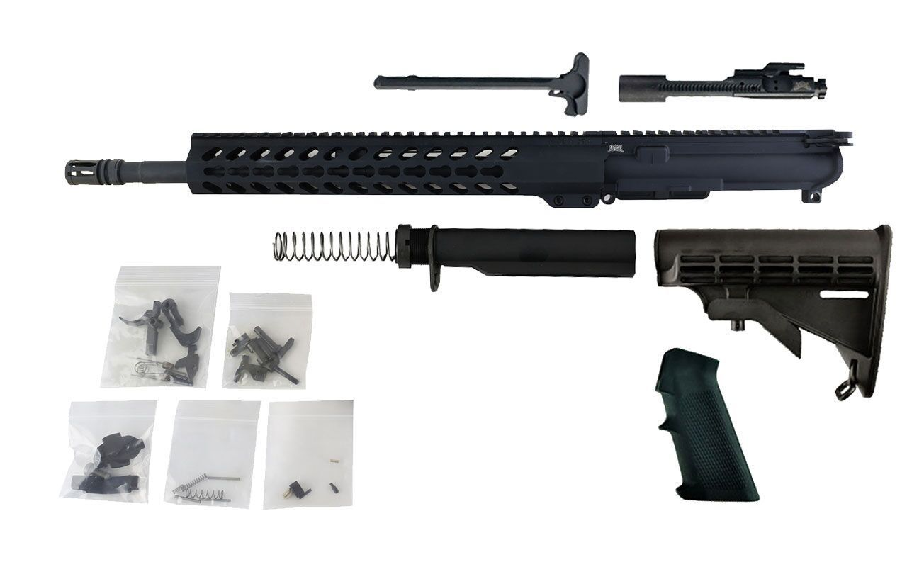 "300 Blackout - 16"" Barrel and 13.5"" Keymod Lightweight Handguard - Freedom Rifle Kit"