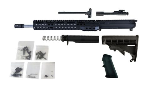 "300 Blackout - 16"" Stainless Steel Barrel and 13.5"" Keymod Lightweight Handguard - Freedom Rifle Kit #10"