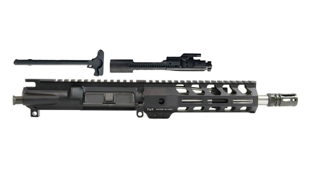 "300AAC Blackout 8.5"" Stainless Steel Barrel 7"" M-Lok Handrail Complete Build Kit"