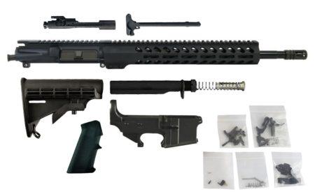 "300 BLACKOUT ( 16"" Chrome Moly w/ 13.5"" Lightweight M-LOK) Complete Rifle Build Kit #12"