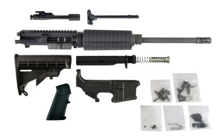 "300 Blackout (16"" Barrel, Carbine-Length, A2 Handguard) AR 15 Complete Rifle Build Kit #4"