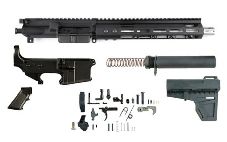 "300 Blackout (10.5"" SS Barrel & 10"" M-Lok Handguard) AR 15 - Complete Build Kit"