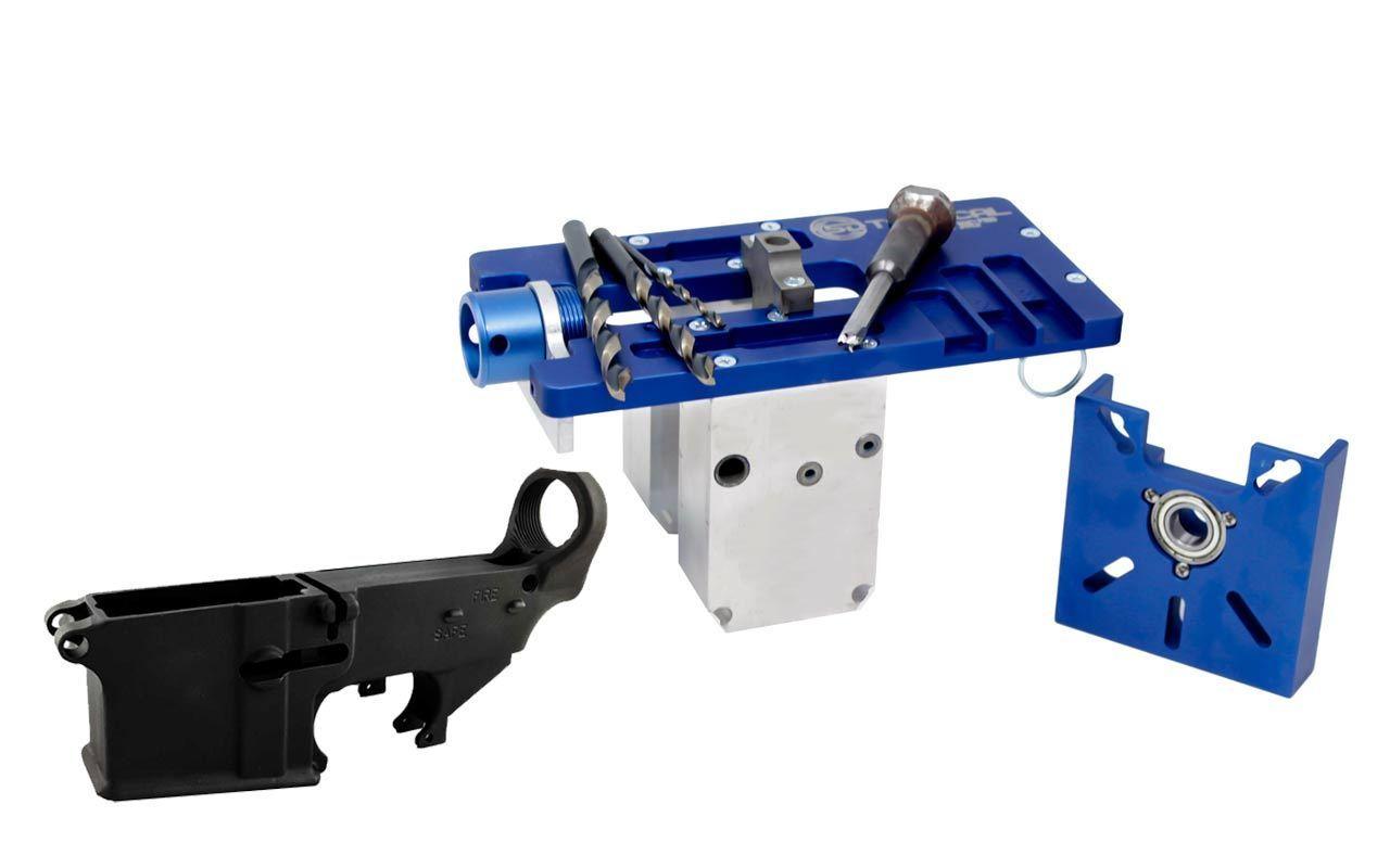 5D Tactical Router Jig PRO Multi Platform & 80% Lower FireSafe (1-Pack)