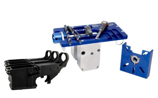 5D Tactical Router Jig PRO Multi Platform & 80% Lower FireSafe (3-Pack)