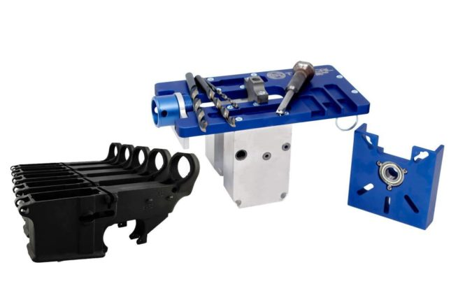 5D Tactical Router Jig PRO Multi Platform & 80% Lower FireSafe (5-Pack)