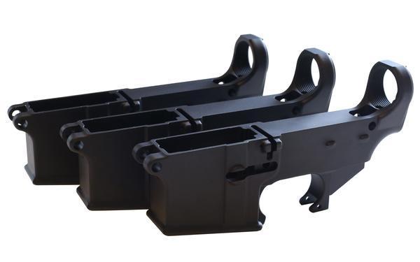 Enhanced Black 80% Lower (3-Pack)