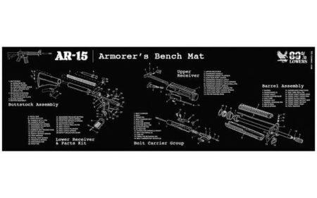 Builder's Mat for AR-15