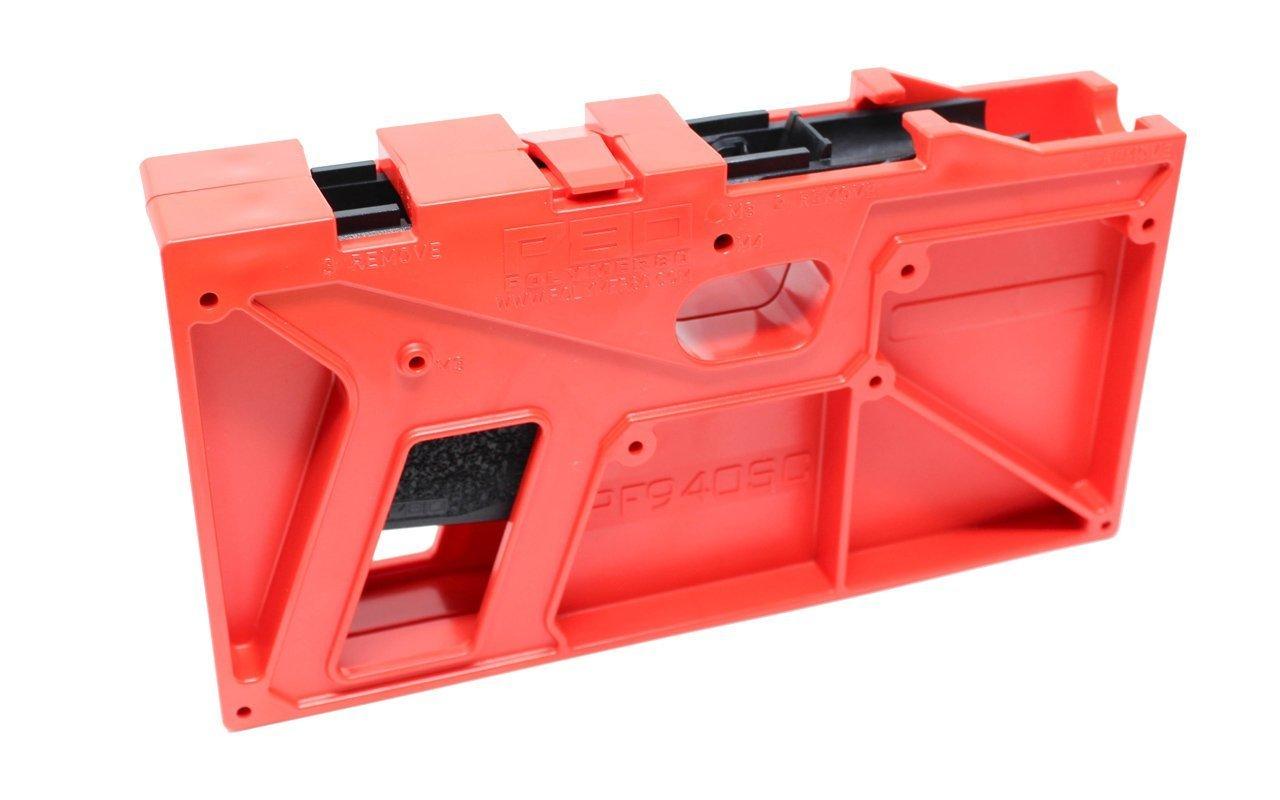 Glock Frame and Jig Kit - Glock 26/27 gen 3, Black (Polymer80)