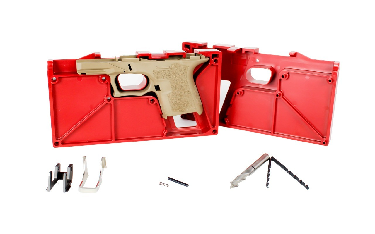 Polymer80 PF940SC™ 80% SubCompact Frame and Jig Kit – FDE